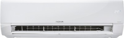 Nokia 4 in 1 Convertible Cooling 1 Ton 3 Star Split Inverter AC - White(NOKIA103SIAI, Copper Condenser)