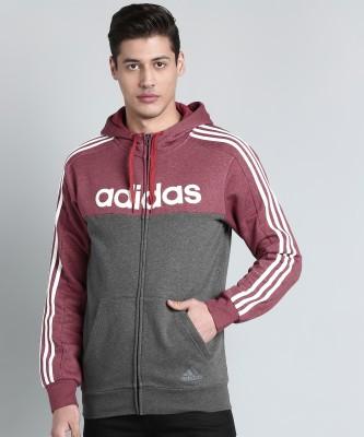 ADIDAS Full Sleeve Printed Men Sweatshirt