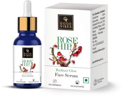 GOOD VIBES Radiant Glow Face Serum - Rose Hip(10 ml)