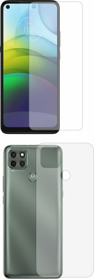 Fashion Way Front and Back Screen Guard for Moto g9 power(Pack of 2)