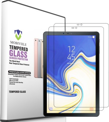 MOBIVIILE Tempered Glass Guard for Samsung Galaxy Tab S4 10.5 inch(Pack of 2)