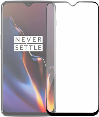 Ravbelli Edge To Edge Tempered Glass for OnePlus 6T, OnePlus 7, Oneplus 7(Pack of 1)