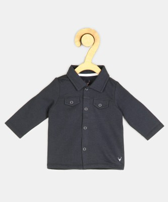 Allen Solly Full Sleeve Solid Baby Boys Jacket