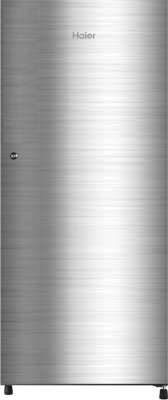 Haier 195 L Direct Cool Single Door 4 Star (2020) Refrigerator(Shiny Steel, HRD-1954CSS-E)