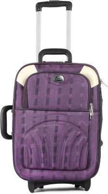 PS ENTERPRISES doublesell24in purpel Check in Luggage   24 inch