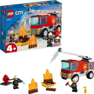 LEGO Fire Ladder Truck Multicolor LEGO Blocks   Building Sets