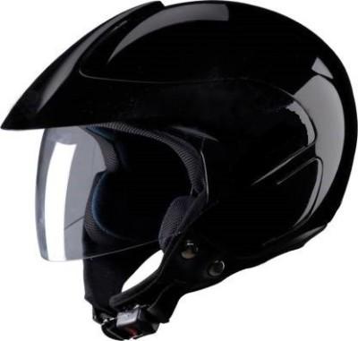 Banyan BVCORP O2 BLACK HELMET Motorbike Helmet Motorbike Helmet(Black)