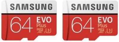 Samsung EVO Class 10 64  GB MicroSD Card Class 10 92 MB/s Memory Card