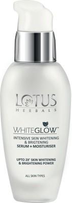 Lotus Herbals White Glow Serum Moisturiser 30ml(30 ml)