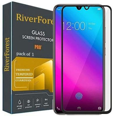 RiverForest Edge To Edge Tempered Glass for Vivo V11, Vivo V11 Pro, Vivo X23(Pack of 1)