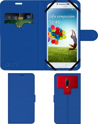 ACM Flip Cover for Samsung Galaxy S4 I9500(Blue, Cases with Holder)