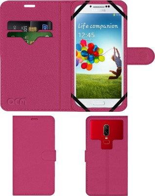 ACM Flip Cover for Samsung Galaxy S4 I9500(Pink, Cases with Holder)