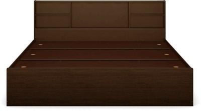 Forzza Jasper Engineered Wood King Bed(Finish Color -  Walnut)