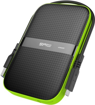 Silicon Power 5 TB External Hard Disk Drive(Black)