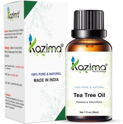 KAZIMA Tea Tree Essential Oil (30ml) Pure Natural For Skin care & Hair treatment Hair Oil(30 ml)