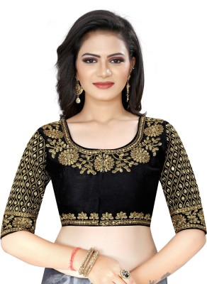 MAHADEVFAB Round Neck Women Blouse