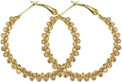 AMIAS Jewels Sparkling Alloy Hoop Earring AMIAS Jewels Earrings