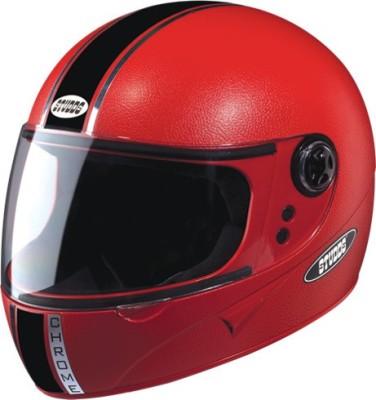 STUDDS CHROME ECO FULL FACE -L Motorbike Helmet(Red)