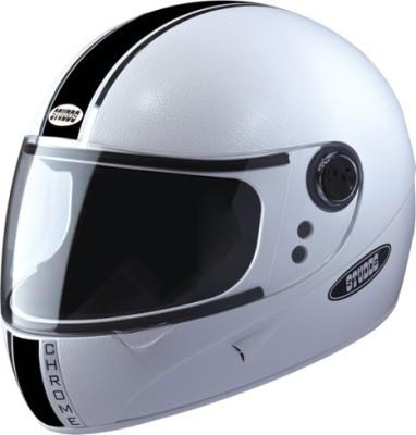 STUDDS CHROME ECO FULL FACE -XL Motorsports Helmet(White)