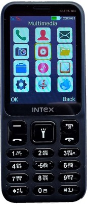Intex ULTRA G3+(Black+Grey)