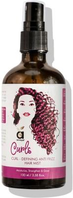 Anveya Curls Hair Mist for Curly Hair, Curl-Defining Anti-Frizz, 100ml(100 ml)