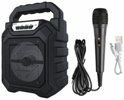 Lehza best top usb microphone speaker 5 W Bluetooth Home Theatre(Black, Mono Channel)