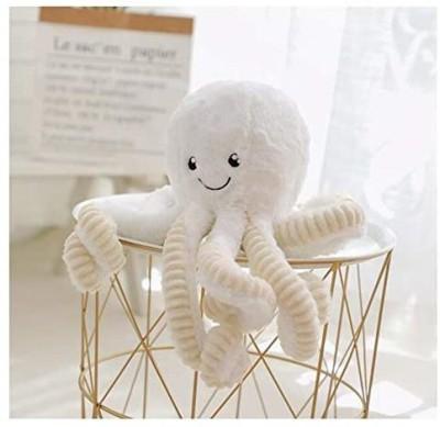 Hyl World 15.7 Inches Plush Cute Octopus Dolls Soft Toy Stuffed Marine Animal For Home Decor Christmas Birthday Gifts   4.6 inch White Hyl Soft Toys
