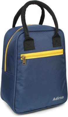 ADIRSA LB3012 Navy Blue Insulated Lunch Bag / Tiffin Bag for Men, Women, Kids, School, Picnic,Work Carry Bag for Lunch Boxes Waterproof Lunch Bag(Blue, 5)