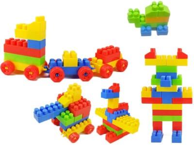 BOZICA 100% BEST QUALITY Building Blocks Set For Children Plastic Assembly Model Big Bricks DIY Learning Educational Toys(Multicolor)