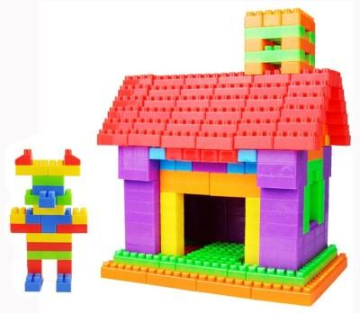 BOZICA 100%GOOD QUALITY Building Blocks Set For Children Plastic Assembly Model Big Bricks DIY Learning Educational Toys(Multicolor)