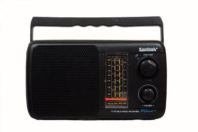 Santosh Five Band / 3 Battery Portable FM Radio FM Radio(Black)