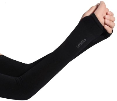 VEMOLI JS-350 Polyester Arm Warmer(Black)