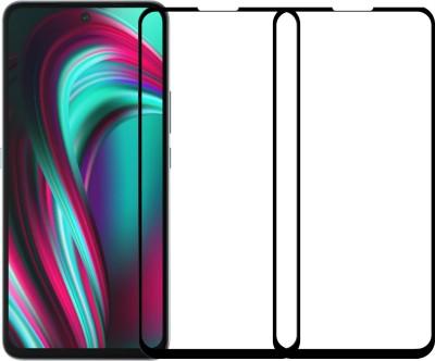 Karpine Edge To Edge Tempered Glass for Micromax In Note 1, Poco M2 Pro, Mi Redmi Note 9 Pro, Mi Redmi Note 9 Pro Max(Pack of 2)
