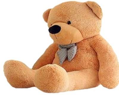 Toymail Stuffed Spongy Teddy Bear Cuddles Toy 3 Feet Color brown   20 cm Brown