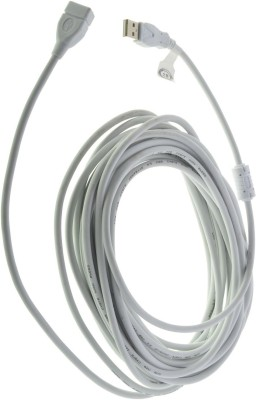 Mobiseries best usb extension cable  1.5m  1.5 m Reversible USB 2.0 Compatible with computer accessories, White, One Cable Mobiseries Mobile Cables