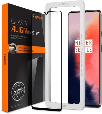 Spigen Tempered Glass Guard for OnePlus 7T(Pack of 1)