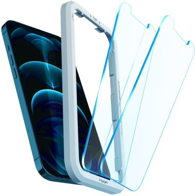 Spigen Tempered Glass Guard for iPhone 12 Pro Max(Pack of 2)
