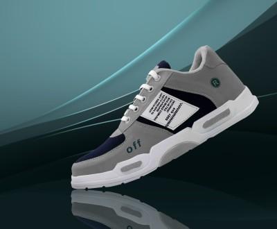 K' Footlance Running Shoes For Men(Grey)