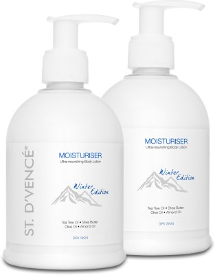 ST. D'VENCÉ Body Moisturiser - Winter Edition for Very Dry Skin enriched with Tea Tree Oil & Shea Butter -...