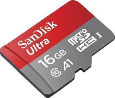 SanDisk MICRO SDHC UHS-I 16 GB Ultra SDHC Class 10 98 MB/s Memory Card