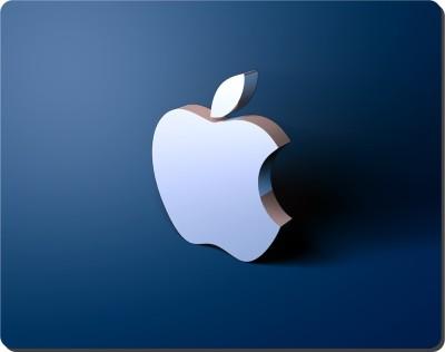 Ryca APPLE IPHONE Logo 3D Design High Resolution Mousepad Multicolor3