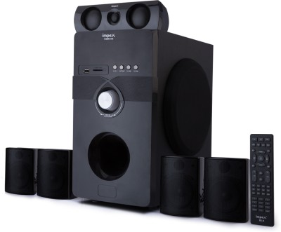 Impex Vibrato 5.1 Multimedia System USB SD FM Playback Support Feature Superior Sound Clarity 170 W Bluetooth Home Theatre(Black, 5.1...