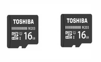 Toshiba M203 16 GB MicroSDHC Class 10 100 MB/s Memory Card