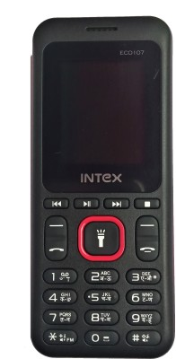 Intex Eco 107(Black+Red)