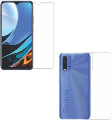 FIRST IMPRESSION Front and Back Tempered Glass for Redmi 9 Power(Pack of 2)