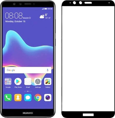 iZAP Edge To Edge Tempered Glass for For Huawei Y9 (2018)(Pack of 1)