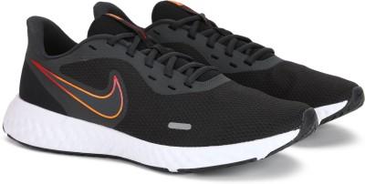 Nike Nike Revolution 5 Men's Running Shoe Running Shoes For Men(Black)
