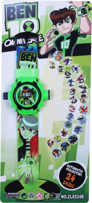 Jainixi sales 24 Images Projector Digital Toy Watch for Kids Blue Jainixi sales Educational Toys