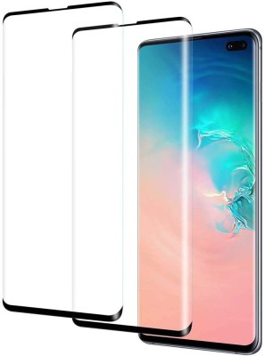 SPINZZY Edge To Edge Tempered Glass for Samsung Galaxy S10 Plus(Pack of 2)