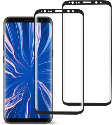 SPINZZY Edge To Edge Tempered Glass for Samsung Galaxy S9 Plus(Pack of 2)